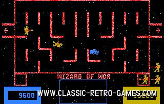 Wizard of Wor original screenshot