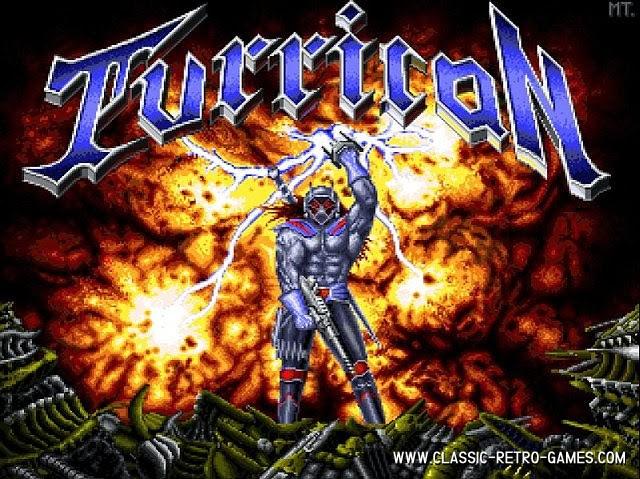 Turrican original screenshot