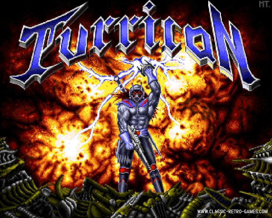 Turrican 32k original screenshot
