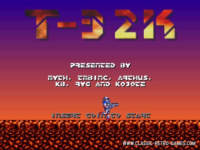 Turrican 32k remake screenshot