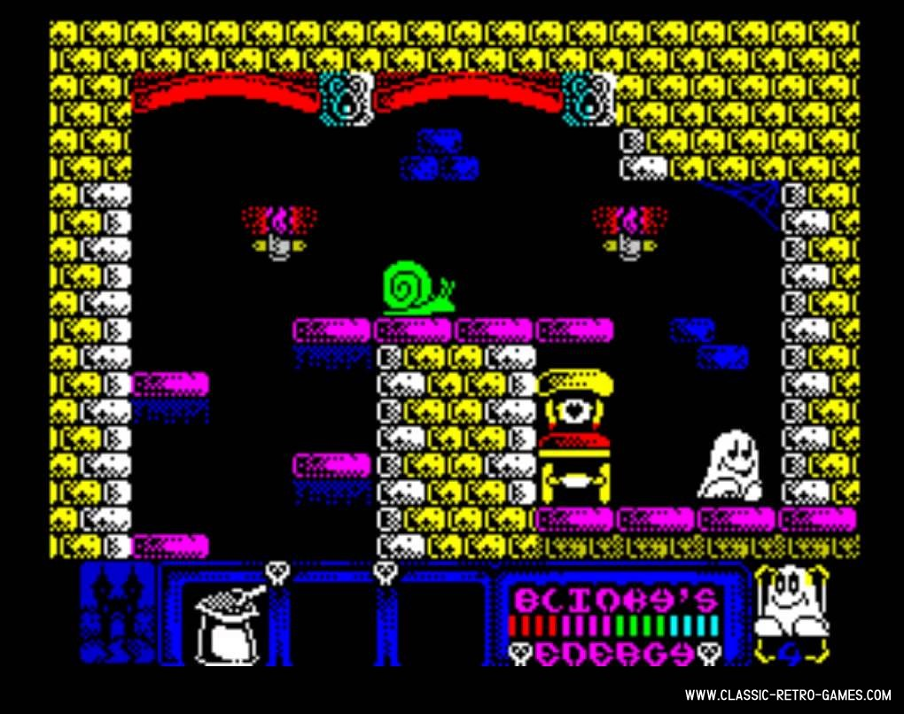 Blinky's scary school original screenshot