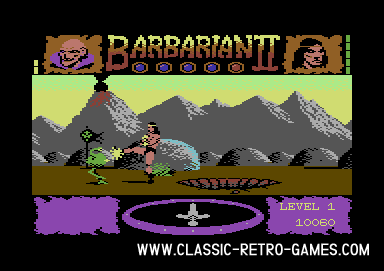 Barbarian Returns original screenshot