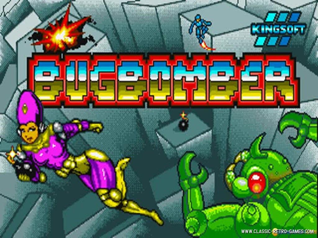 BugBomber original screenshot