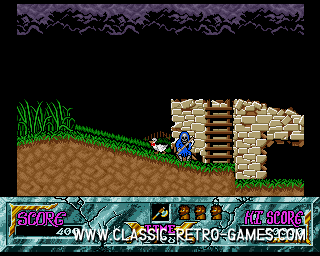 Ghouls and Ghosts original screenshot