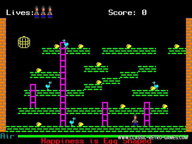 Manic Miner IV remake screenshot