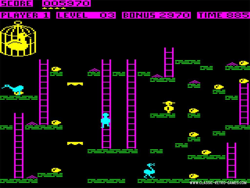 Chuckie Egg (3) original screenshot
