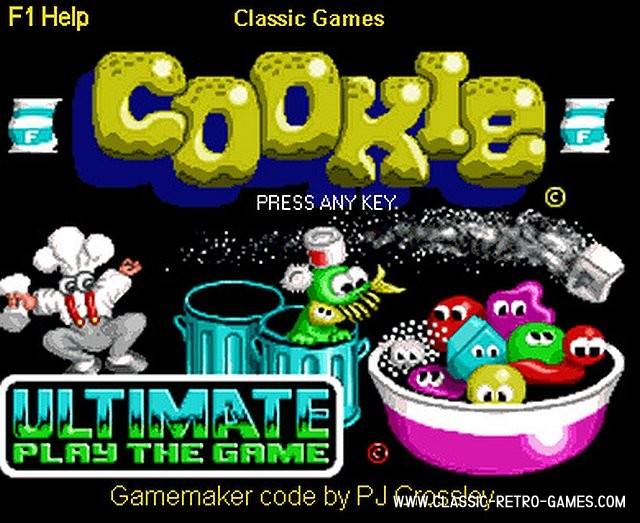 Cookie remake screenshot