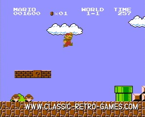 Super Mario Bros. original screenshot