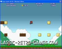 Super Mario Bros. remake screenshot