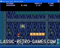 Super Mario Bros. remake screenshot