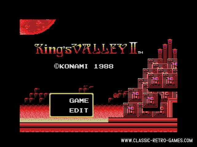 King's Valley II original screenshot