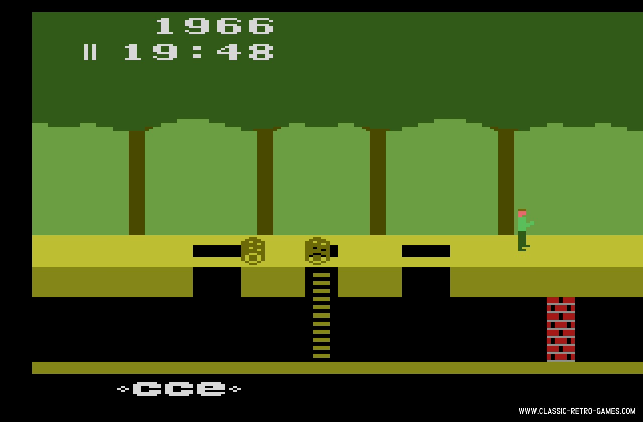 Pitfall original screenshot