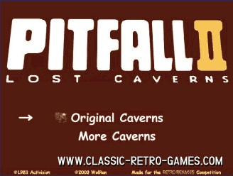 Pitfall remake screenshot