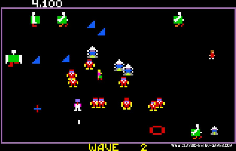 Robotron: 2084 original screenshot