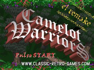Camelot Warriors remake screenshot