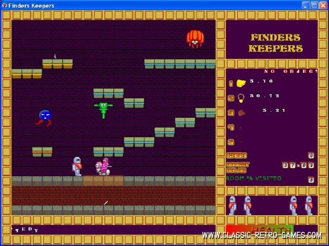 Finders Keepers remake screenshot