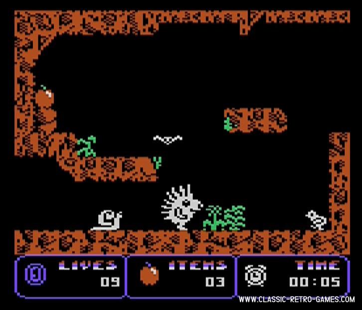 Spiky Harold original screenshot
