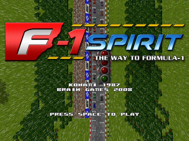 F-1 Spirit remake screenshot