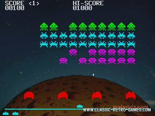 Space Invaders (4) remake