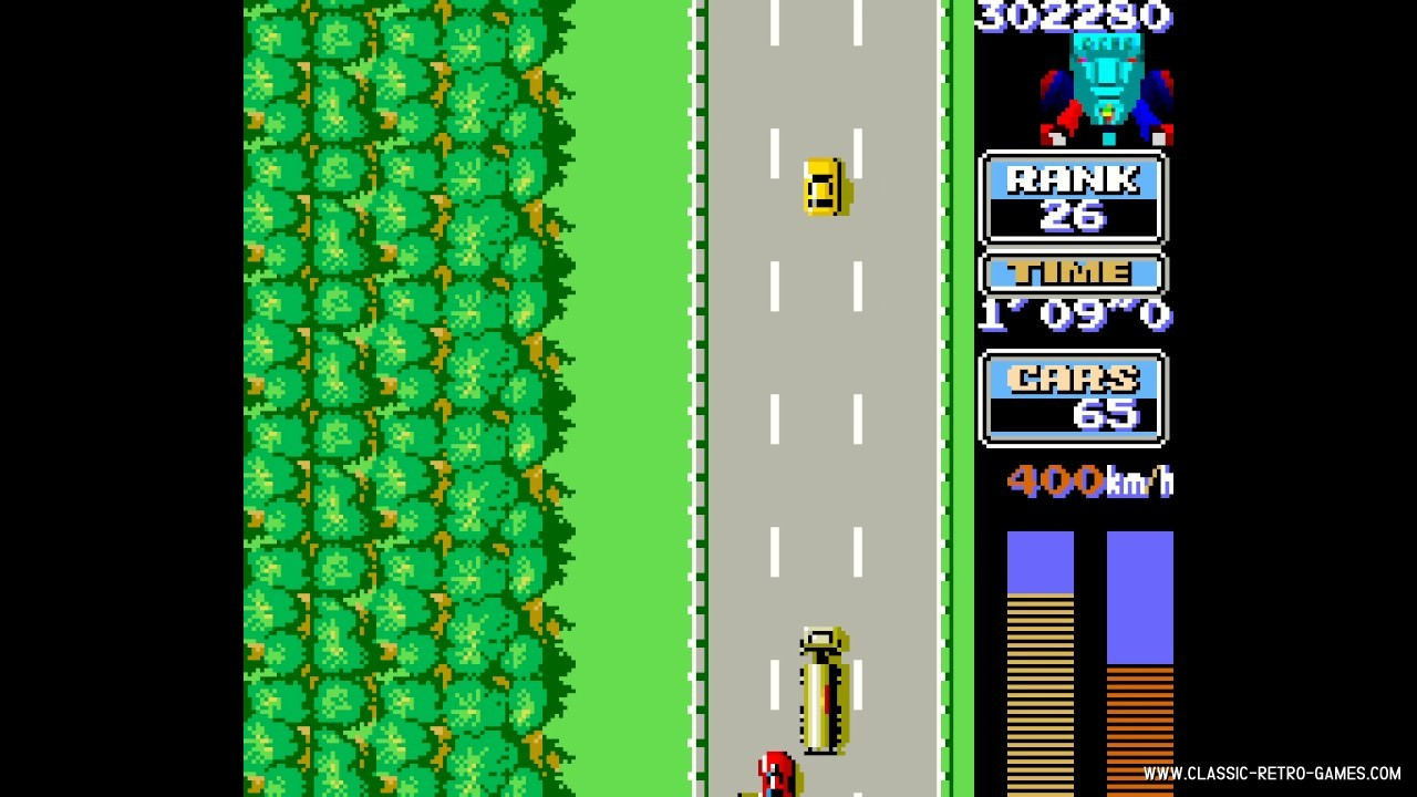RoadFighter original screenshot