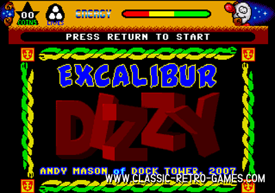 Dizzy: Excalibur remake screenshot