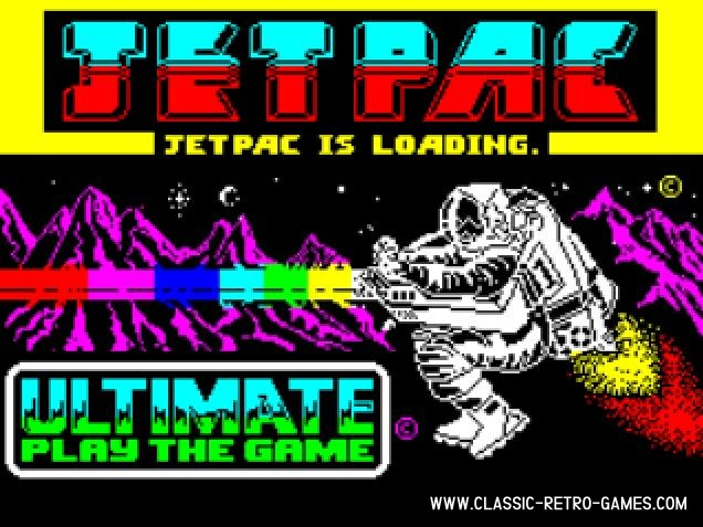 Jetpac original screenshot