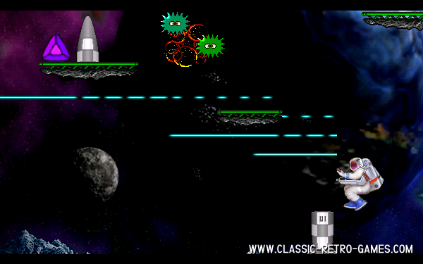 Jetpac remake screenshot