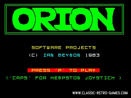 Orion original screenshot