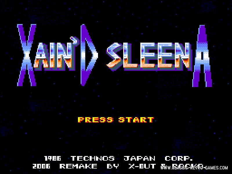 Xain'D Sleena remake screenshot