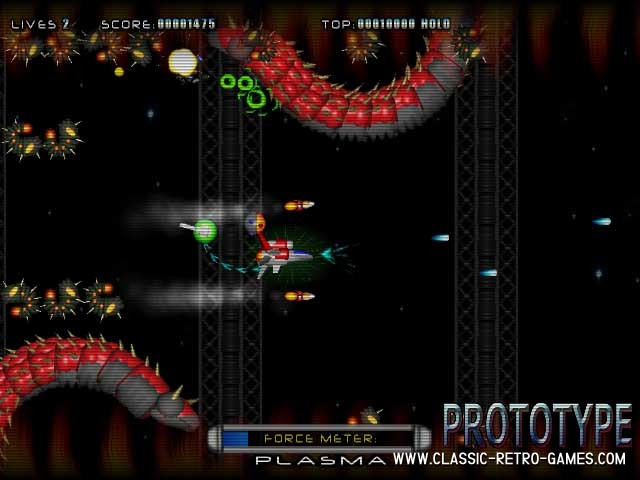 R-Type remake screenshot