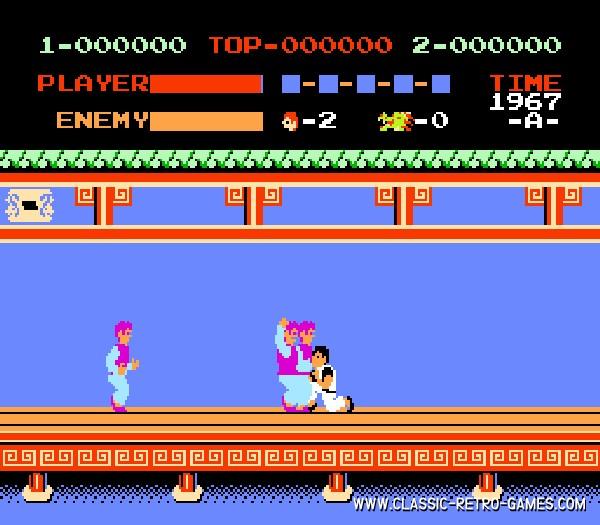 Kung-Fu Master (2) original screenshot