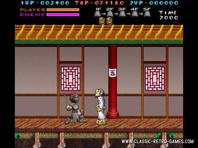 Kung-Fu Master (2) remake screenshot