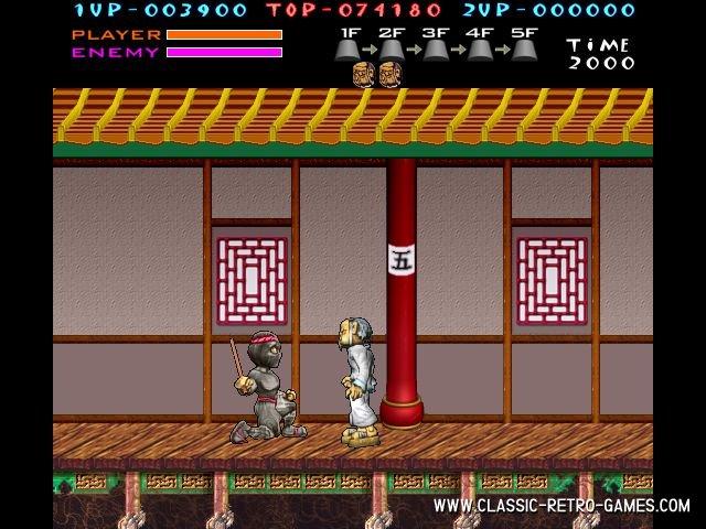 Kung-Fu Master (2) remake