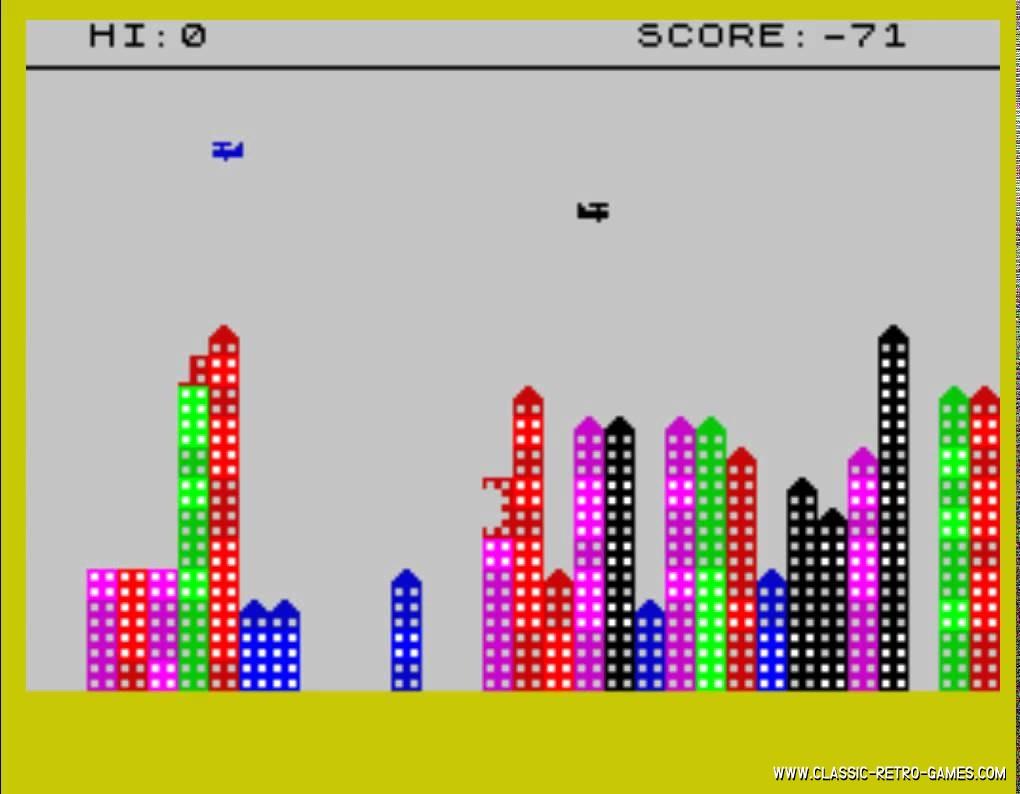 Bomber original screenshot