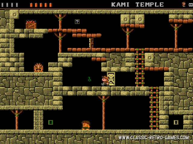 Rick Dangerous (Laos Quest) remake screenshot