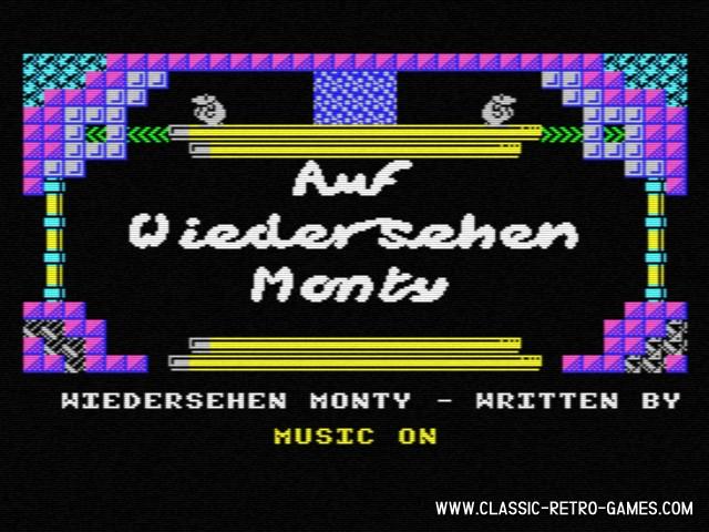 Auf Wiedersehen Monty original screenshot