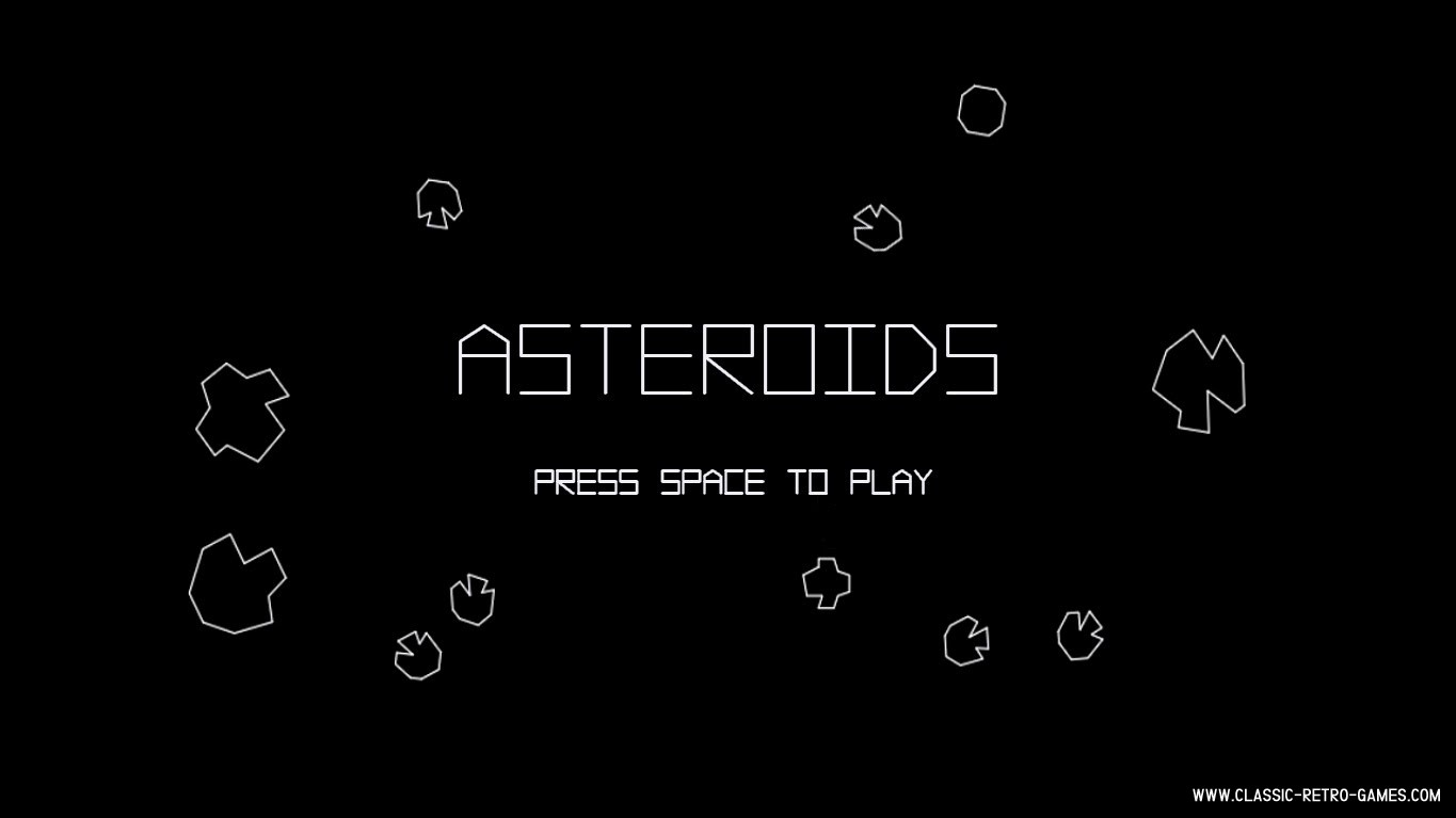 Asteroids (2) original screenshot