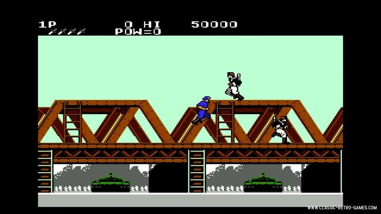 Green Beret (Rush'n Attack) original screenshot