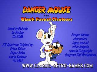 Danger Mouse remake screenshot