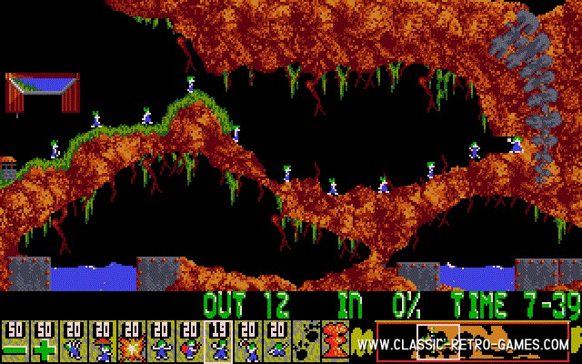 gioco lemmings da