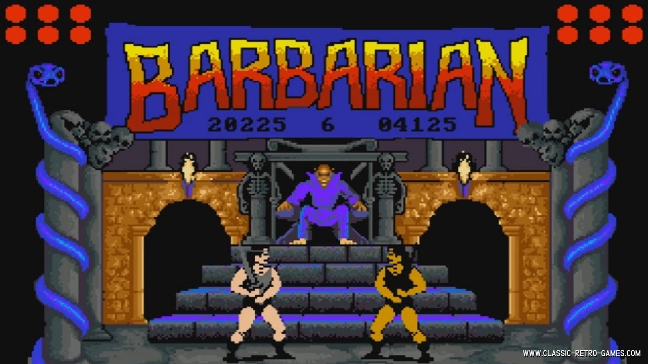 BARBARIAN AMSTRAD TÉLÉCHARGER