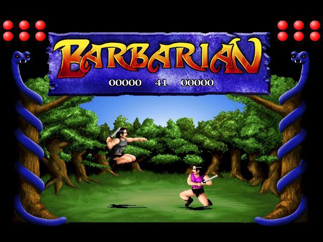 Barbarian remake screenshot