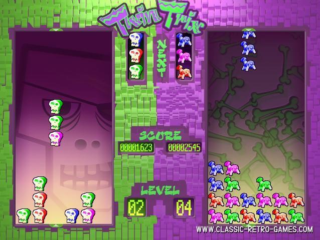Klatrix remake screenshot