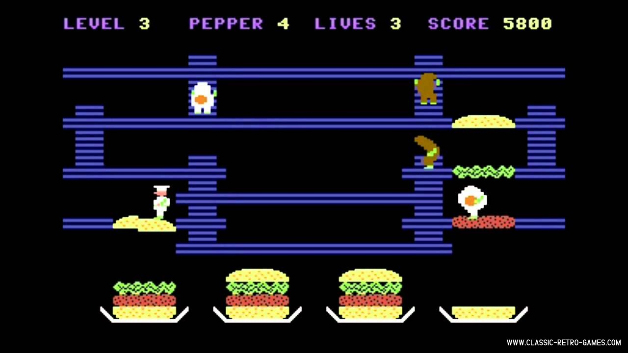 Burgertime (Burgerland) original screenshot