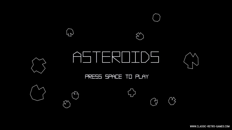 Asteroids (4) original screenshot