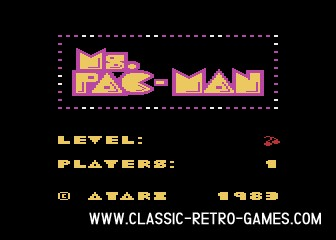 Ms Pacman original screenshot