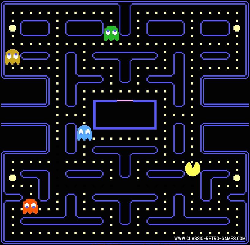 PacMan original screenshot