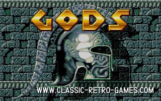GODS original screenshot