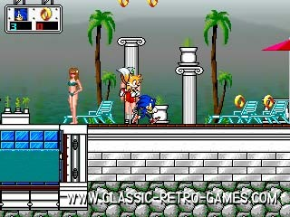 Sonic Chaos remake screenshot