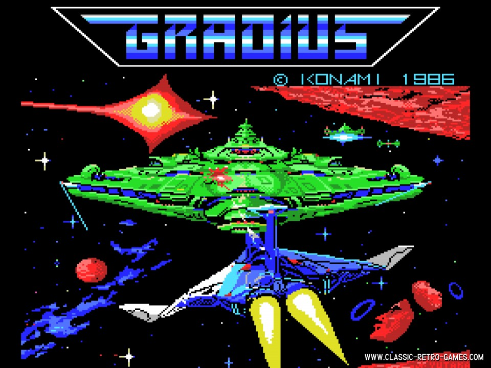 Gradius original screenshot